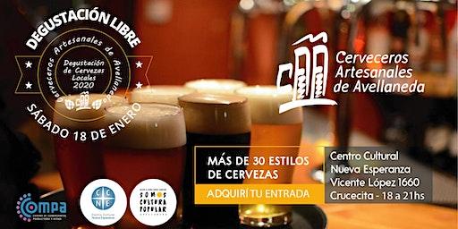 Degustación de Cervezas Artesanales. Viví tus Vacaciones 2020!