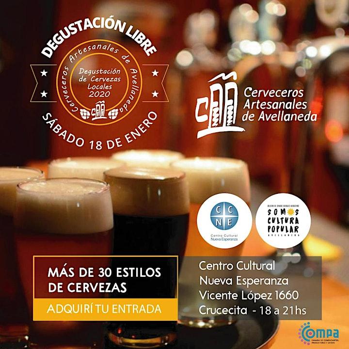 Imagen de Degustación de Cervezas Artesanales. Viví tus Vacaciones 2020!