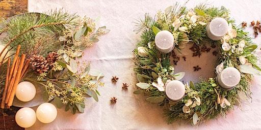 Adventskränze binden, die pure Weihnachtsvorfreude