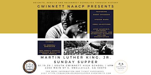 Gwinnett NAACP MLK Jr. Sunday Supper