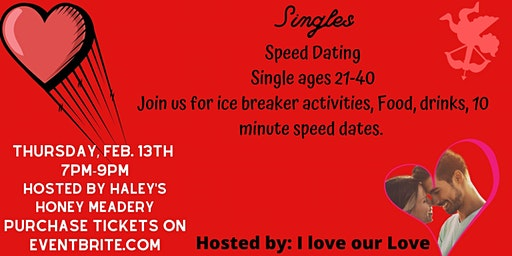Valentine's Singles Speed Dating Event