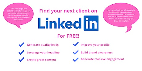 Get Leads From LinkedIn and Grow Your Business  Fast - Wolverhampton tickets