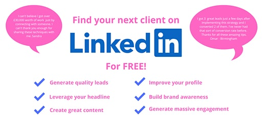 Get Leads From LinkedIn and Grow Your Business  Fast - Wolverhampton