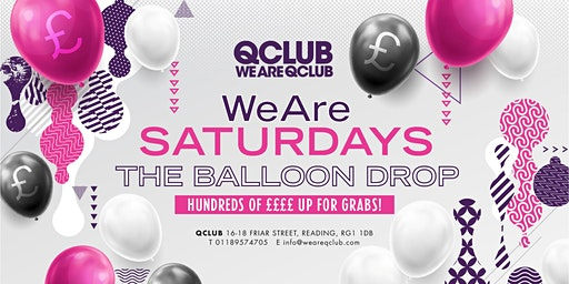 WeAreSaturdays / The Balloon Drop!