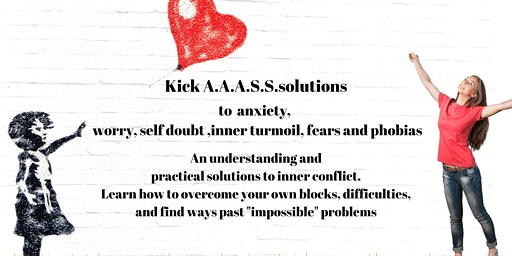 Kicking Anxiety, stress and self doubt into touch.