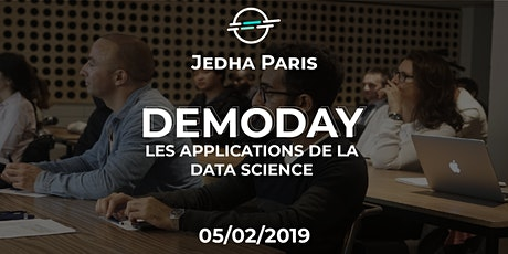 Demoday - Les applications de la Data Science - Jedha Paris billets