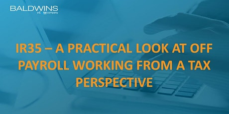 IR35 - A practical look from a tax perspective - Tamworth tickets