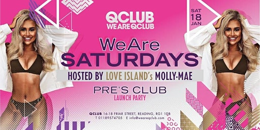 WeAreSaturdays Launch Party Hosted By Love Island's Molly-Mae!