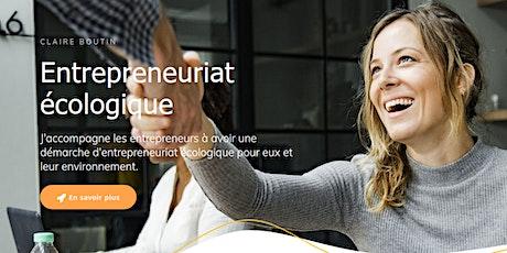 Présentation de l'entrepreneuriat écologique 28/01/2020 Bruxelles billets