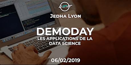 Demoday - Les applications de la Data Science - Jedha Lyon billets