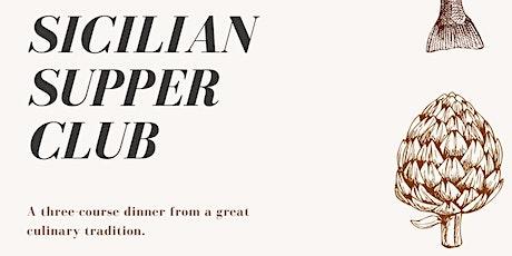 Sicilian supper club tickets