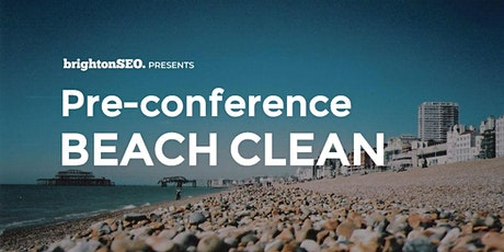 Pre-BrightonSEO Beach Clean - Apr2020 tickets