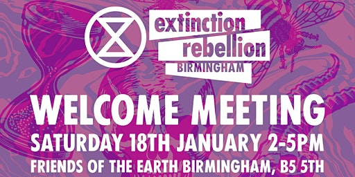 Extinction Rebellion Welcoming Meeting
