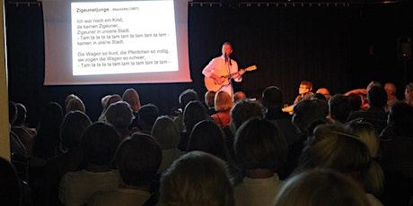 Sing mal mit! Johannes Brand im Kukuk tickets