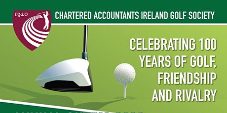 The 94th Annual meeting of the Chartered Accountants Ireland Golf Society tickets