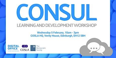 Developing the CONSUL Platform tickets