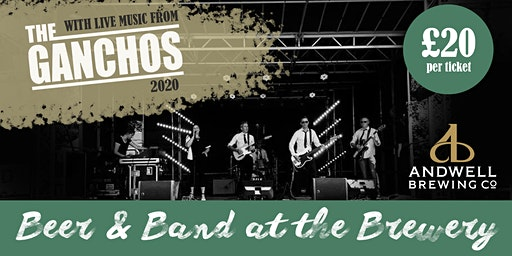 Beer & Band at the Brewery with The Ganchos 2020