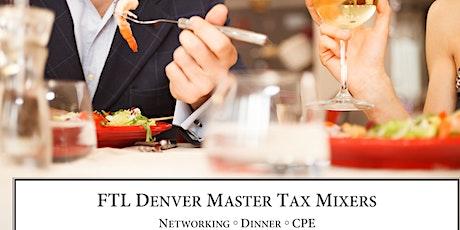 Master Tax Mixer (August 2020) tickets