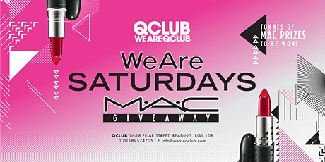 WeAreSaturdays / The MAC Make-Up Giveaway! tickets