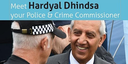 Meet Your Police & Crime Comissioner Hardyal Dhindsa -  High Peak