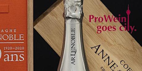 """""""100 Jahre Champagne A.R. LENOBLE"""" - CHAMPAGNER & SCHELLACK zur ProWein 2020 Tickets"""
