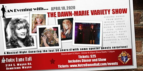 An Evening With The Dawn-Marie Mio Variety Show tickets