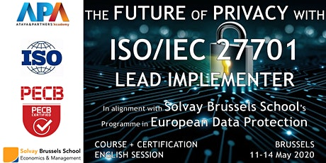 ISO/IEC 27701 Lead Implementer Course and Certification billets