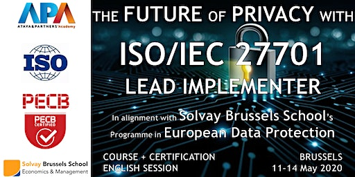 ISO/IEC 27701 Lead Implementer Course and Certification