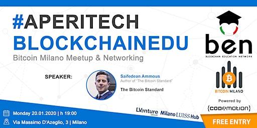MILANO Meetup #AperiTech di Gennaio BEN Italia