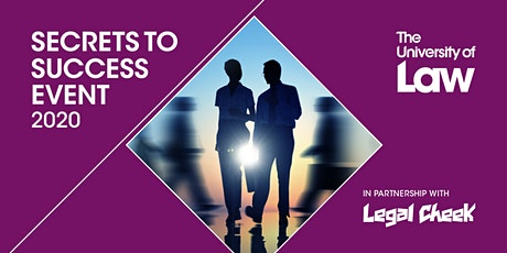 Secrets to Success Leeds (lawtech special) – with Addleshaw Goddard, Eversheds Sutherland, Pinsent Masons and ULaw tickets