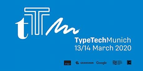 TypeTech MeetUp Munich billets