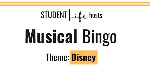 Rock and Roll Bingo: Disney