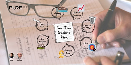 One Page Business Plan Workshop tickets