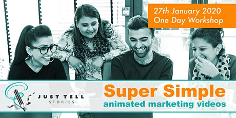 Super Simple Animation Marketed Videos - One Day Workshop tickets