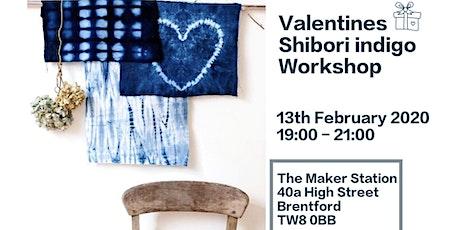 Valentines' shibori indigo workshop tickets