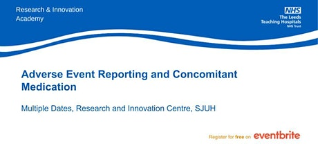 Adverse Event Reporting and Concomitant Medication- virtual teaching tickets