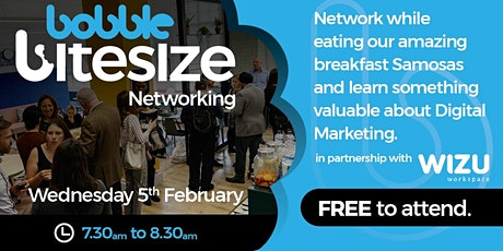 Bobble Bitesize Networking tickets