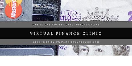 Virtual Finance Clinic tickets