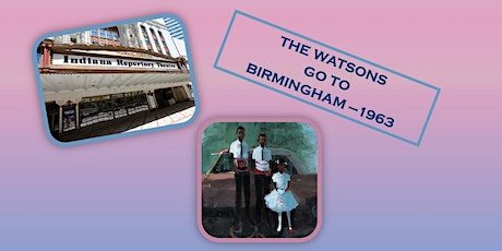 CLOSED: GRADES: 6th-8th STs- Watsons go to Birmingham Play/IRT Indy tickets