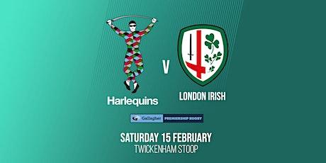 Harlequins v London Irish tickets