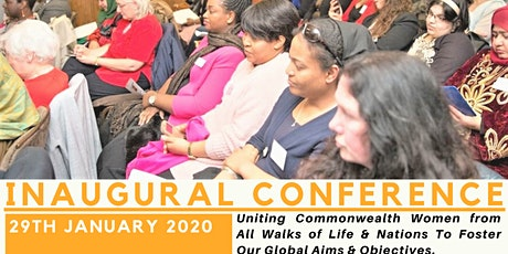 COMMONWEALTH WOMEN INAUGURAL CONFERENCE tickets