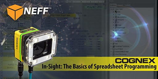 Cognex In-Sight: Beginning Spreadsheet Programming & Introduction to Tools