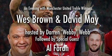 An Evening with Manchester United Treble Winners Wes Brown & David May tickets