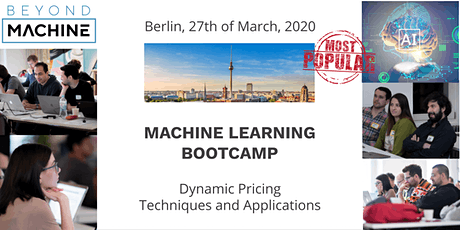 Machine Learning Bootcamp-Building Dynamic Pricing System with Datalyst Academy tickets