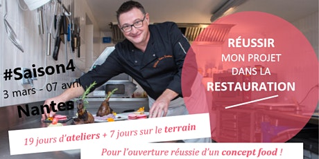"""""""5 semaines pour Réussir mon projet dans la Restauration"""" / #Saison4 / réunion d'info tickets"""