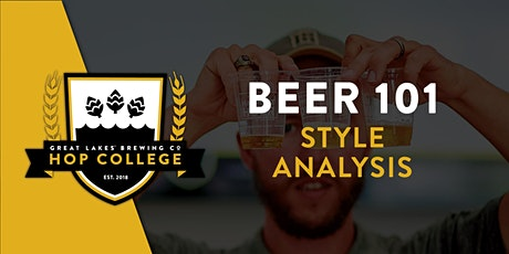 Hop College - Style Analysis: IPA tickets