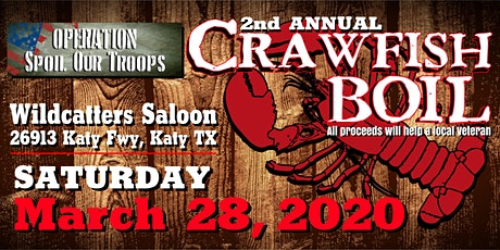 Operation Spoil Our Troops 2nd Annual Crawfish Boil tickets