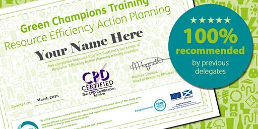 Green Champions Training (Edinburgh)