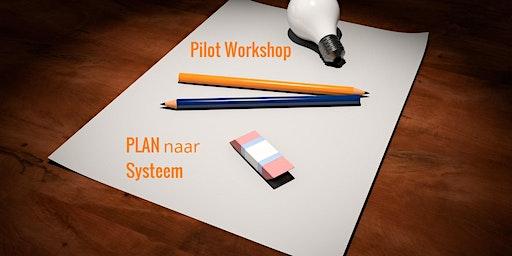 PLAN naar SYSTEEM Programma Introductie