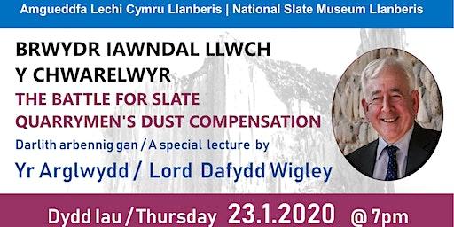 Darlith Dafydd Wigley Lecture